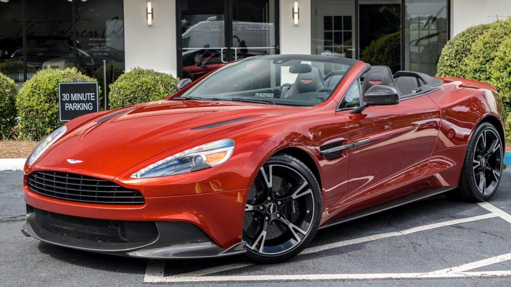 Aston Martin Vanquish S Volante Rental Miami Lusso