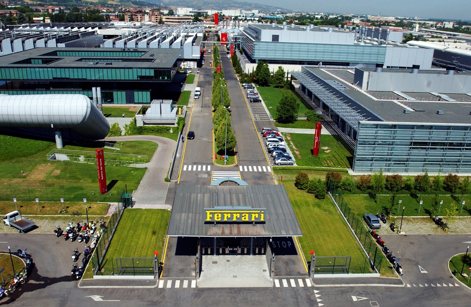 Drive a Ferrari to the Ferrari Factory in Maranello, Italy
