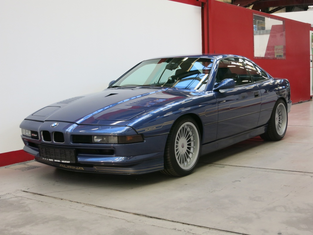 BMW Alpina B12 (E31) 8 series: